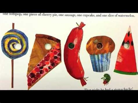 The Very Hungry Caterpillar Read Book Summary